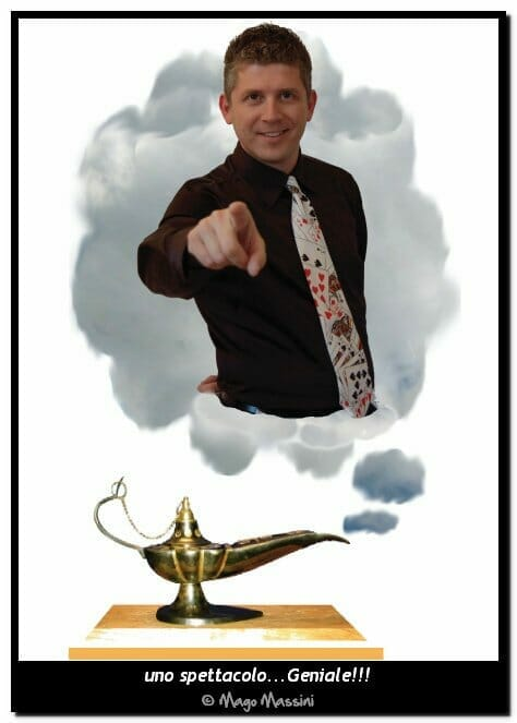 Chi sono Mago Massini - prestigiatore illusionista
