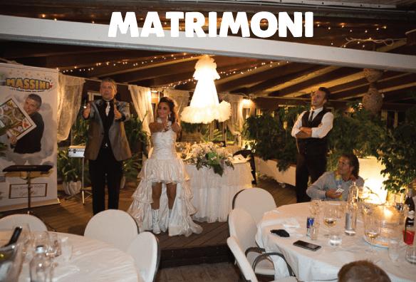 matrimoni Mago Massini prestigiatore illusionista