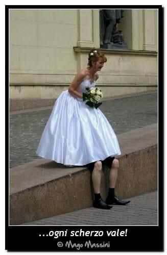 scherzi di matrimonio Mago Massini