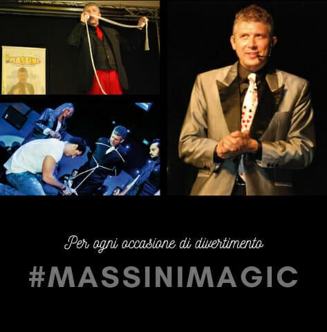 Alessandro Mago Massini - prestigiatore illusionista