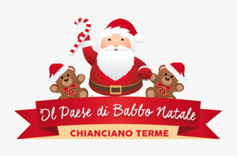 Il Paese di Babbo Natale Logo - Mago Massini prestigiatore illusionista