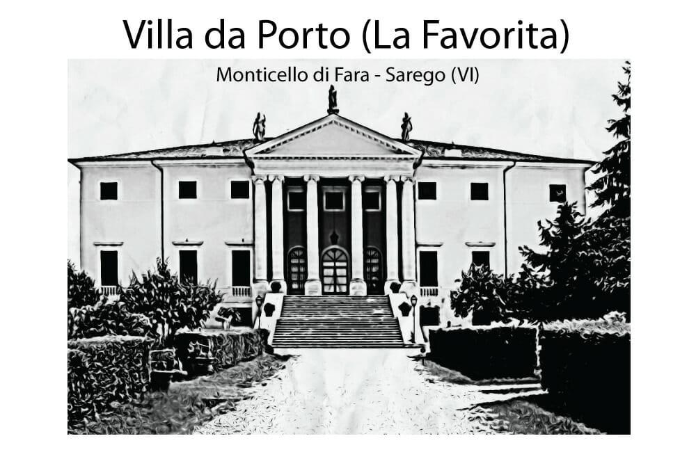 Villa da Porto (La Favorita) Sarego Logo sito Mago Massini