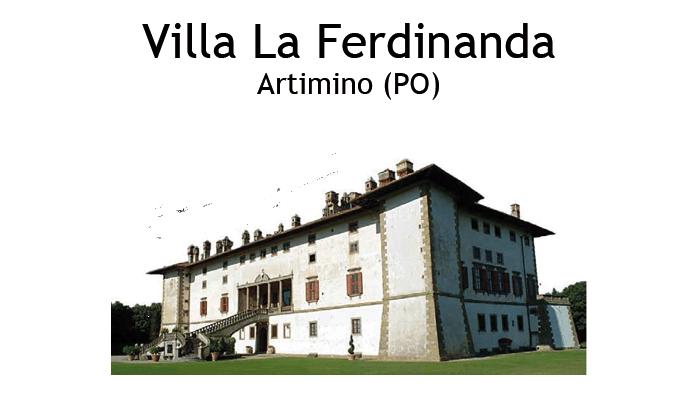 Villa La Ferdinanda Artimino (PO) Logo sito Mago Massini